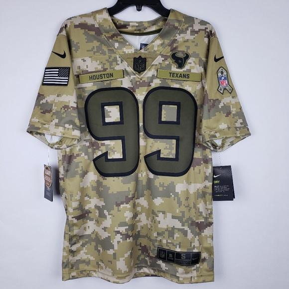 1b2278761 Nike NFL Hou Texans Salute to Svc Jersey JJ Watt